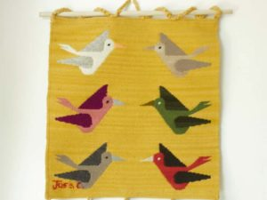 alta andina wall hanging, artisanal, artisan, craft, wool, woven, tapestry, handmade, handwoven, natural, natural dyes