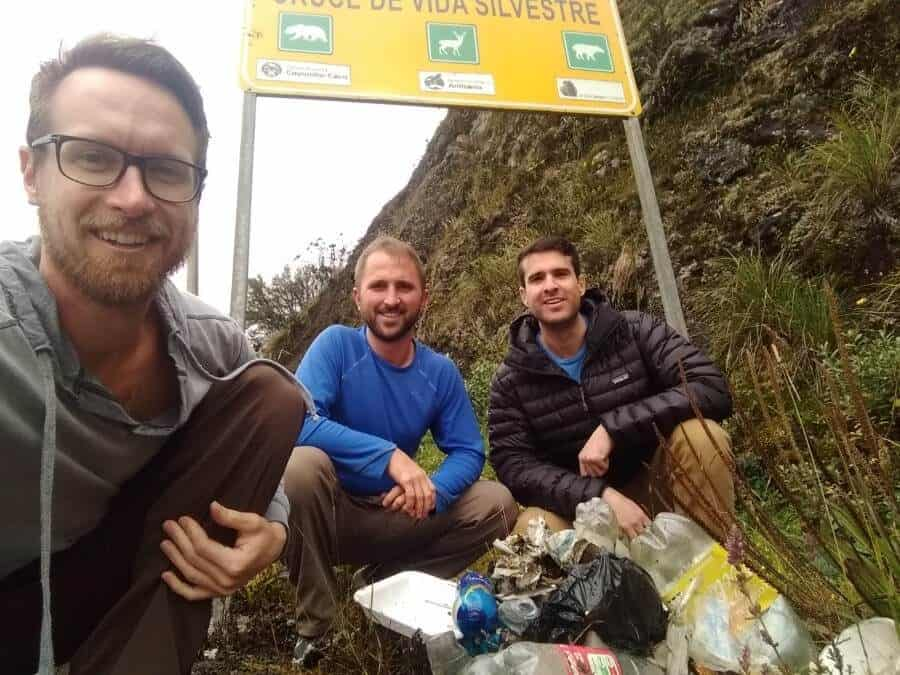 Who started the viral #TrashTag movement that's sweeping the globe?
